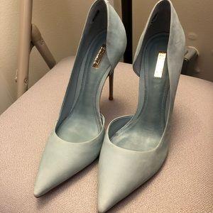 "Schutz ""bridal blue"" heels"